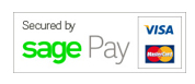 Transactions secured by SagePay